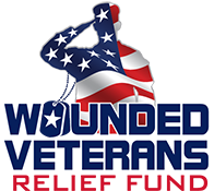 Wounded Veterans Relief Fund logo 175h